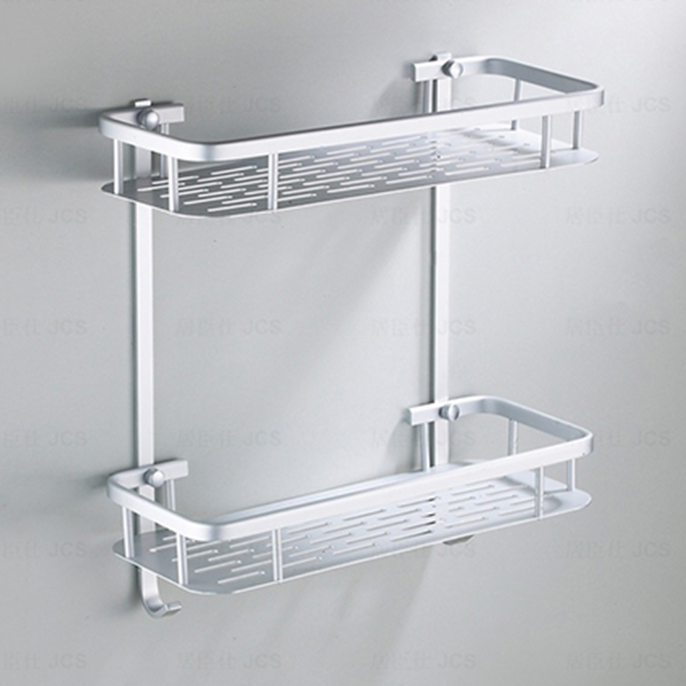 Aluminium-Storage-Rack-Bathroom-Shower-Bath-Shampoo-Holder-Shelf-Storage-Durable