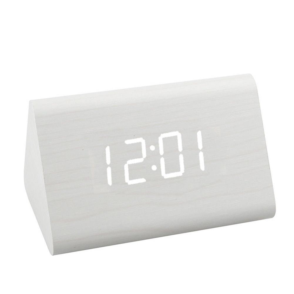 1PC-Electronics-Legno-Digitale-LED-Sveglia-1-PC-CAVO-USB-o-a-batteria
