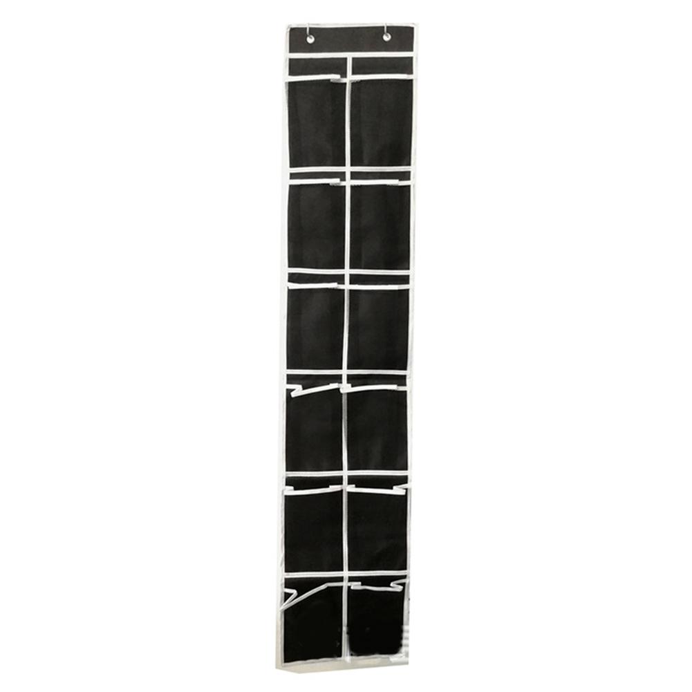 Over-Door-Shoe-Organizer-Closet-Holder-Shelf-Storage-Hanging-Bag-Mesh-Pockets thumbnail 14