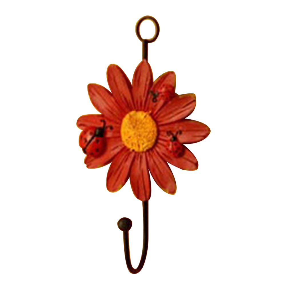 Racks-Hanging-Hook-Key-Holder-Balcony-Flower-Shape-Kitchen-Hat-Home-Decoration thumbnail 12