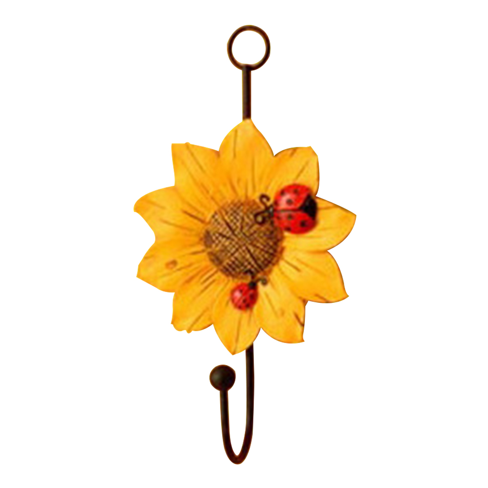 Racks-Hanging-Hook-Key-Holder-Balcony-Flower-Shape-Kitchen-Hat-Home-Decoration thumbnail 13