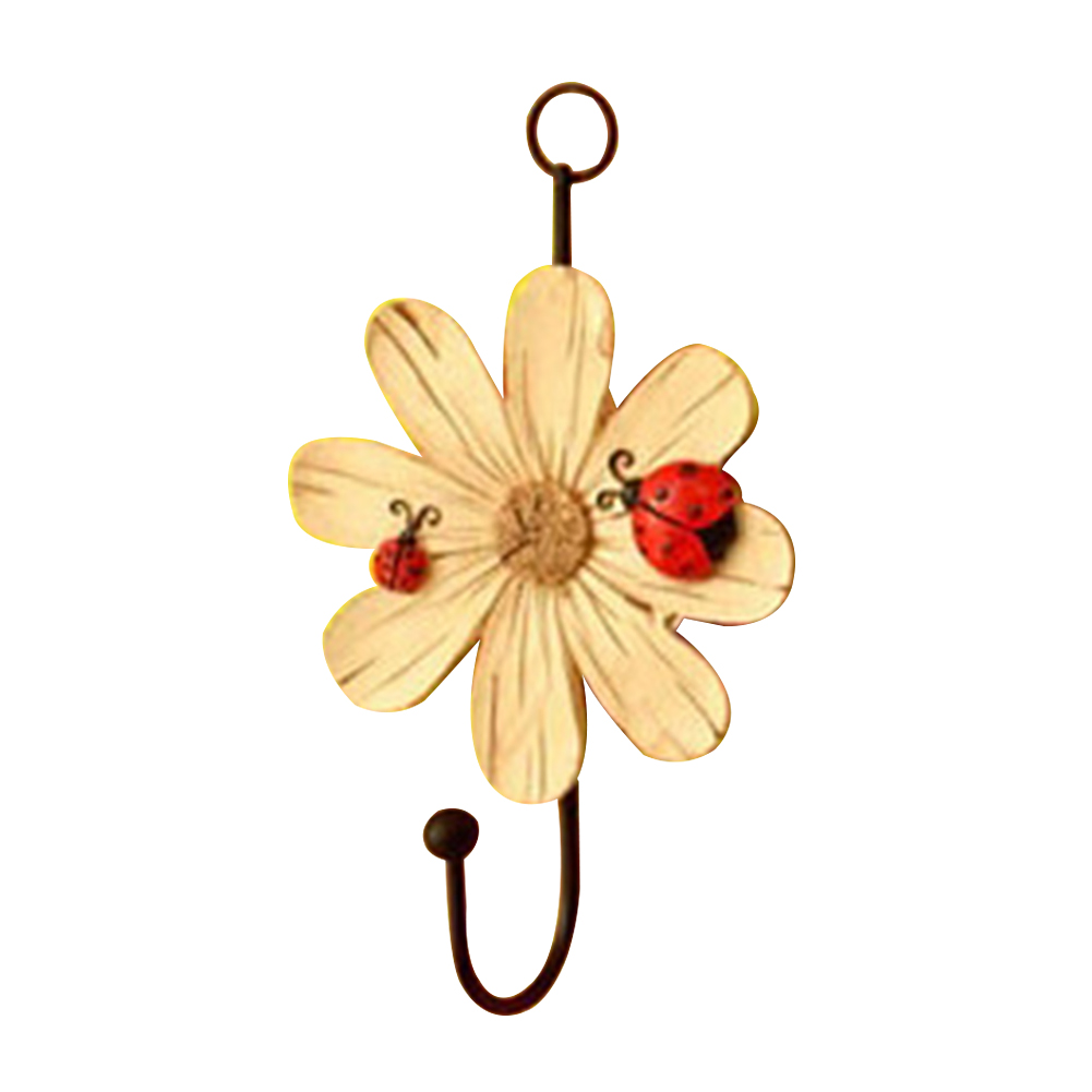 Racks-Hanging-Hook-Key-Holder-Balcony-Flower-Shape-Kitchen-Hat-Home-Decoration thumbnail 14