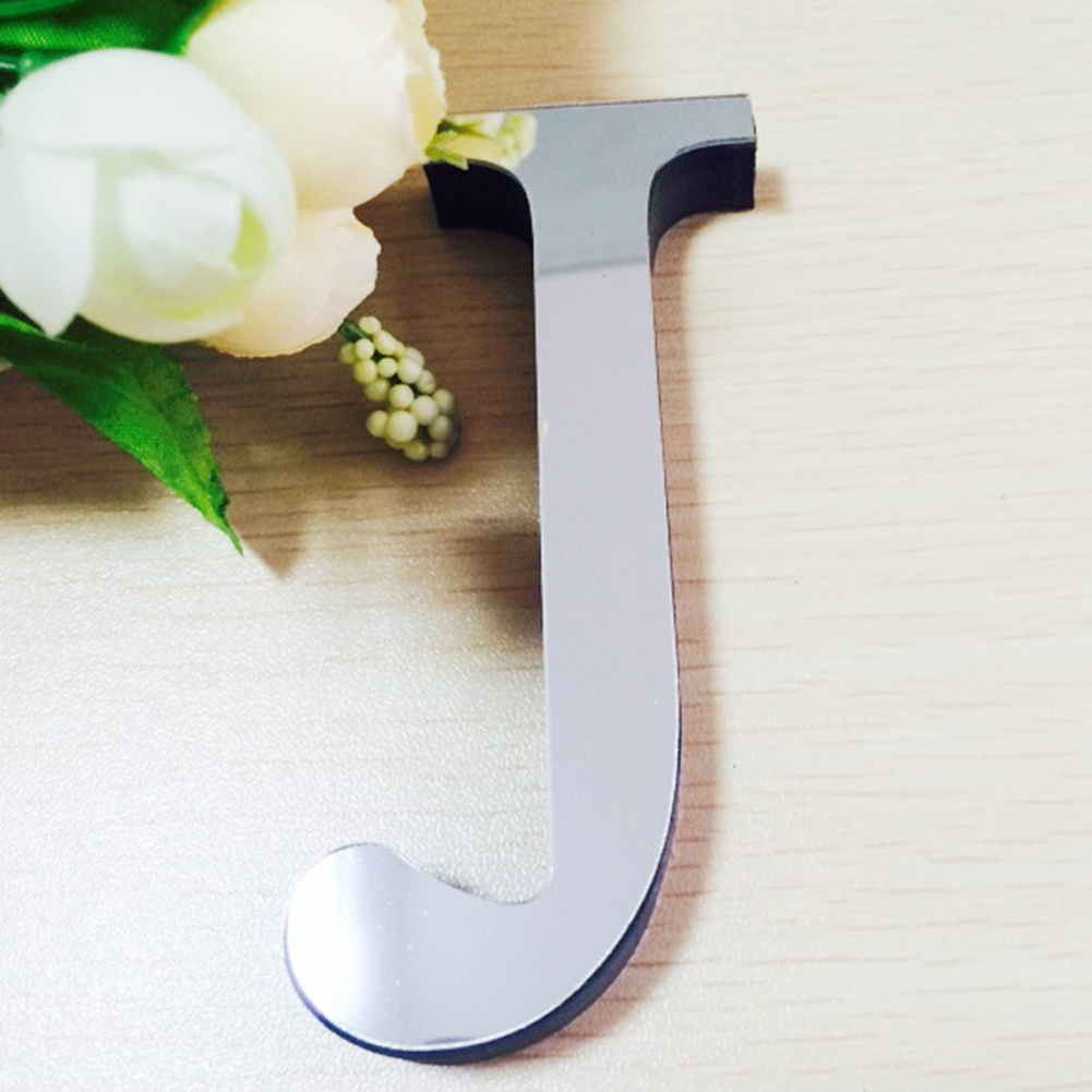 3D-Effekt-Spiegel-Buchstaben-Acryl-Wandaufkleber-Aufkleber-Home-Decor-Art-DIY