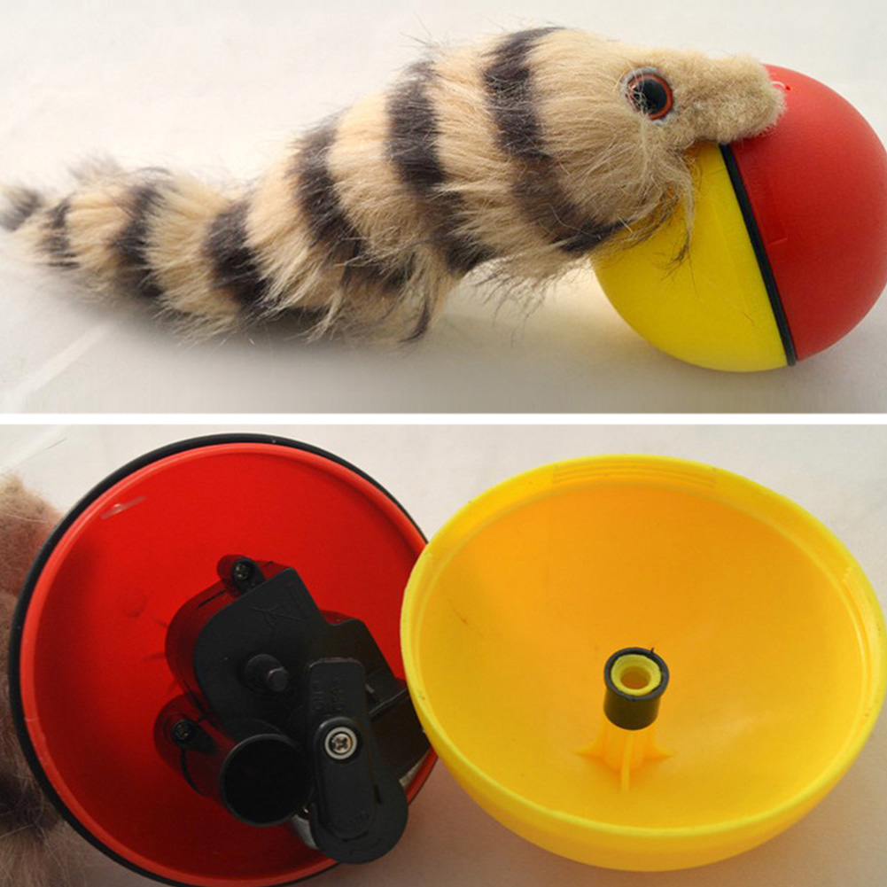 Dog-Cat-Weasel-Motorized-Funny-Rolling-Ball-Pet-Appears-Moving-Alive-Toy-Plastic